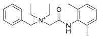 Chemical structure of Denatonium