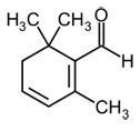 safranal molecule