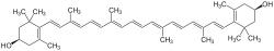 lutein zeaxanthin molecule
