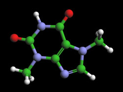 anandamide molecule in chocolate