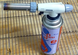 cooking with a blowtorch - Kitchen Blowtorch