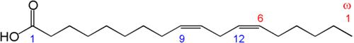 linoleic acid structure