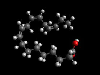 linolenic acid molecule