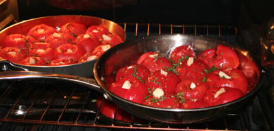 roasting tomatoes in oven at 275F